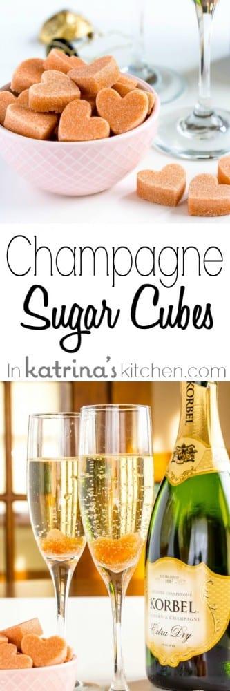Champagne Cocktail Sugar Cubes