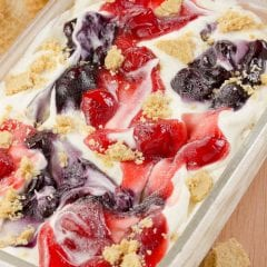 No machine required! Cheesecake Ice Cream Recipe