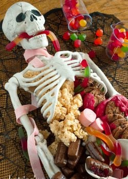 Halloween Dessert Table Skeleton