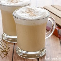 Delicious and easy Eggnog Hot Chocolate Recipe