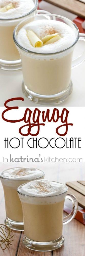 Eggnog Hot Chocolate Recipe