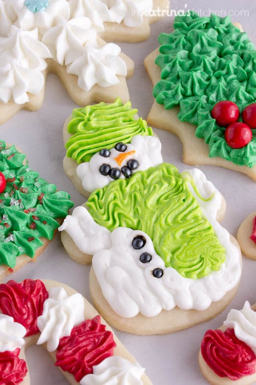 Best Sugar Cookie Frosting- perfect for cut out cookies
