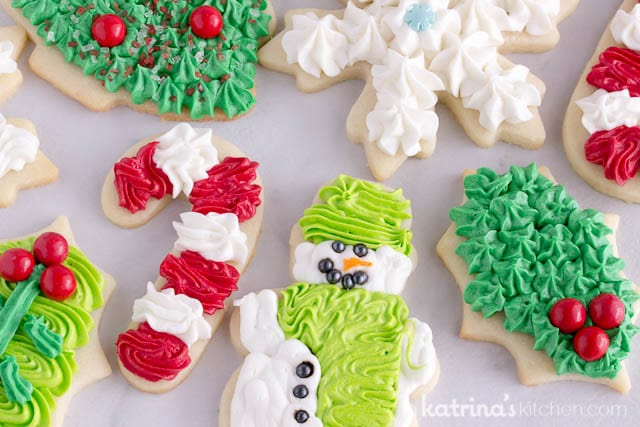 Best Sugar Cookie Frosting perfect for Christmas Cookies