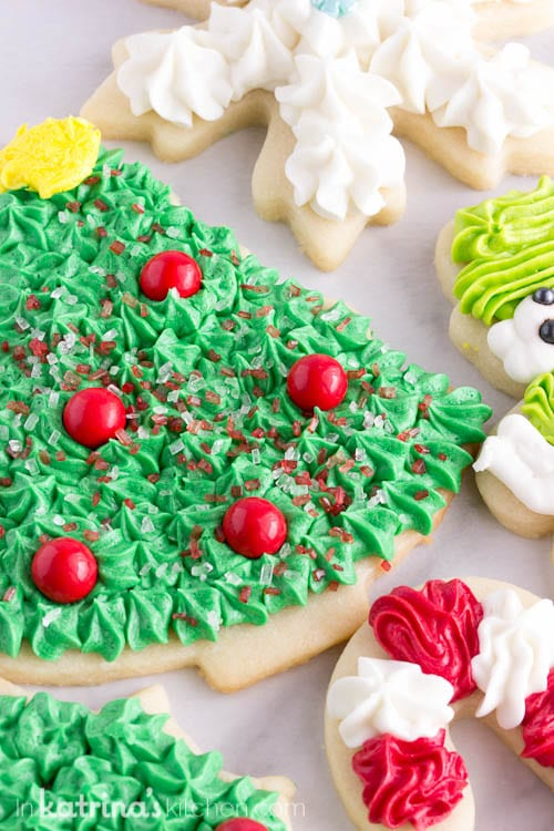 Christmas Cookie Frosting