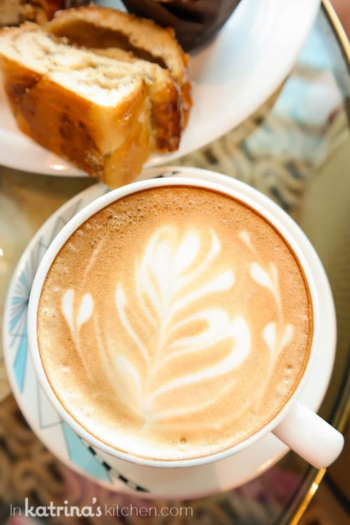 Coffee service- Eating Richly Aboard Princess Cruises