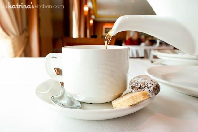 Tea Service- Eating Richly Aboard Princess Cruises