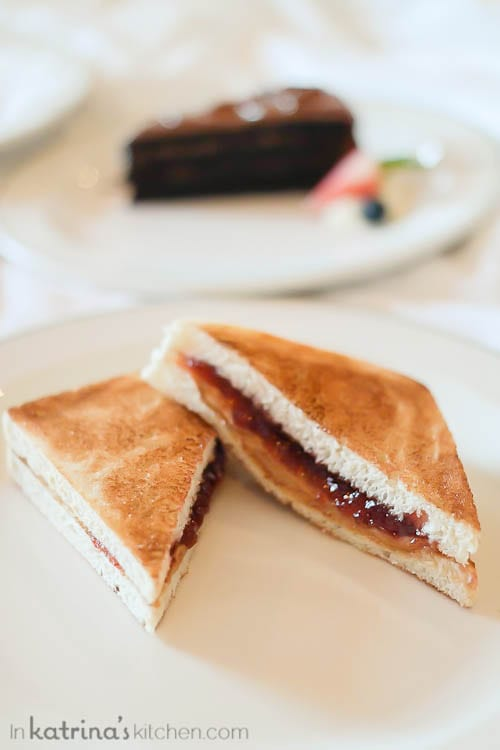 Room service peanut butter and jelly- Eating Richly Aboard Princess Cruises