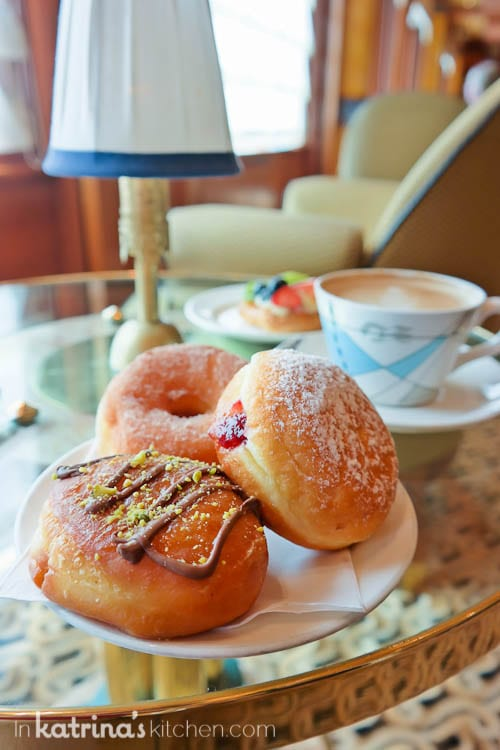 Nutella Donuts- Eating Richly Aboard Princess Cruises