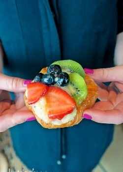 Fruit tart- Eating Richly Aboard Princess Cruises