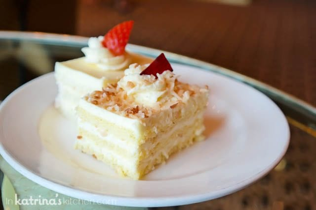 Desserts all day in the International Cafe- Eating Richly Aboard Princess Cruises