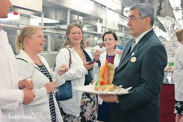 Behind the scenes at the Chef's Table- Eating Richly Aboard Princess Cruises