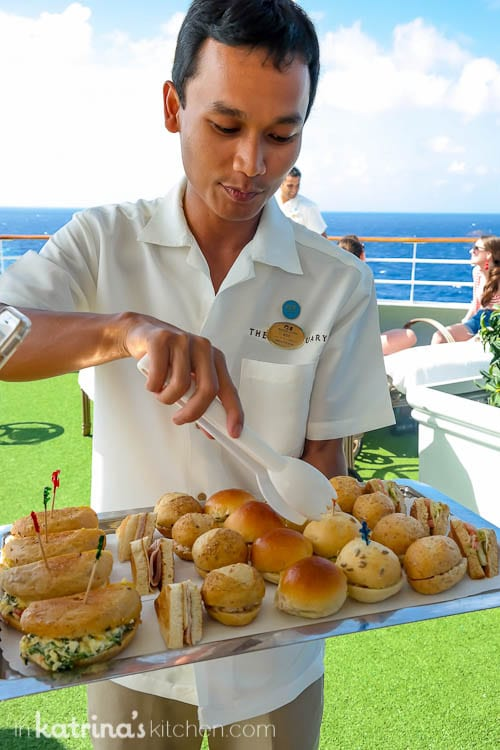 Dining in the sanctuary- Eating Richly Aboard Princess Cruises