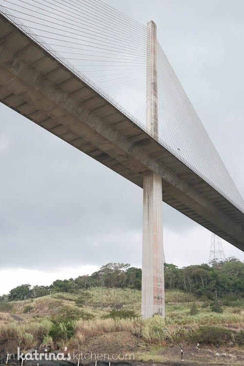 Panama's Centennial Bridge is a major bridge crossing the Panama Canal. It was built to supplement the overcrowded Bridge of the Americas and to replace it as the carrier of the Pan-American Highway.
