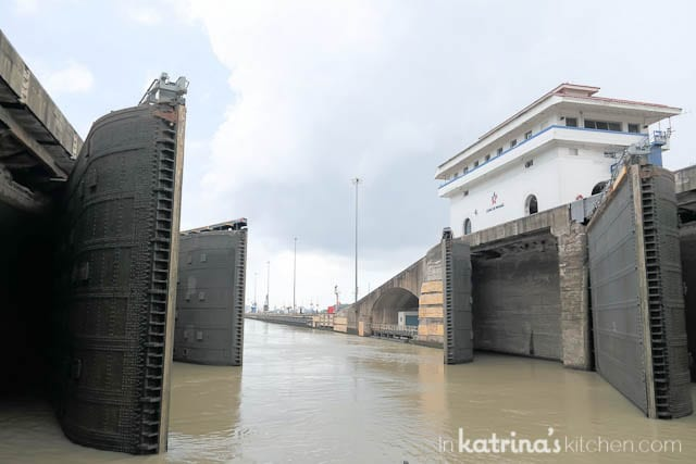 Cruising through the Panama Canal- an incredible experience!