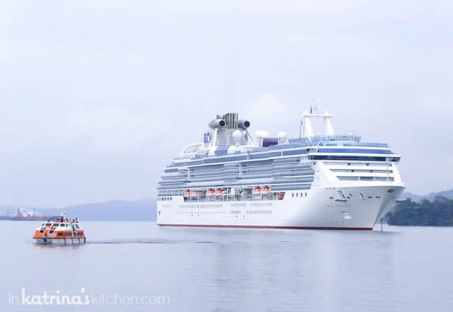 Disembarking the Coral Princess