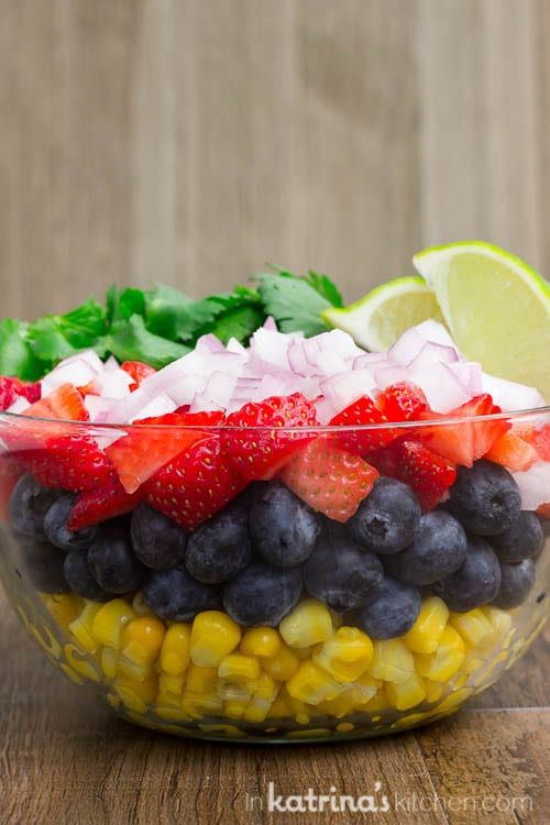 Blueberry Corn Salsa Recipe