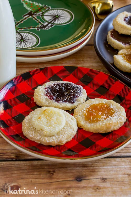 I love this traditional kolacky cookie with a sweet spin- ICE CREAM in the batter!