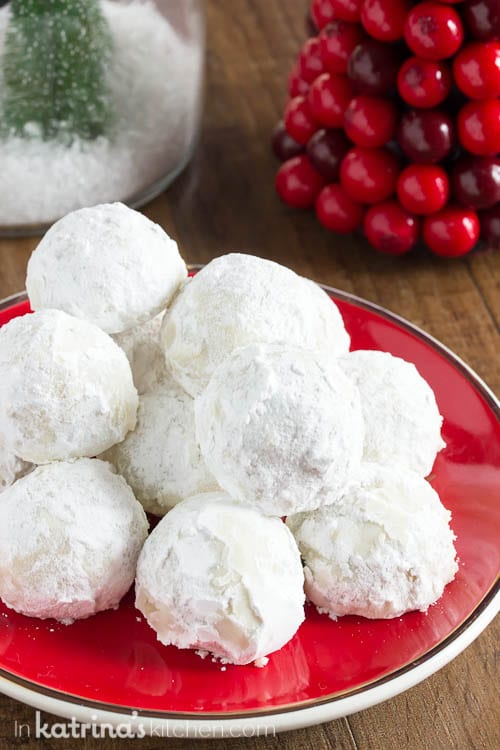 Sprinkle Snowball Cookies Recipe- no nuts, allergy safe!