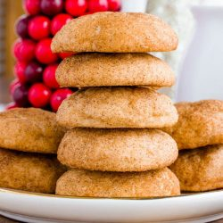Every holiday cookie should include this recipe for Cream Cheese Snickerdoodles!