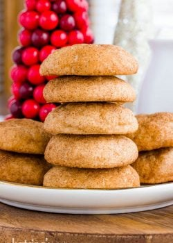 Cream Cheese Snickerdoodles