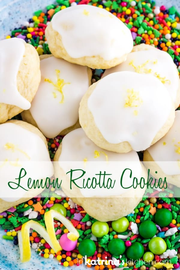 Lemon Ricotta Cookie Recipe