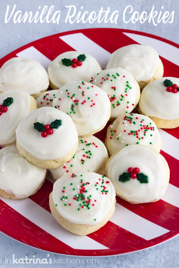Vanilla Ricotta Cookie Recipe