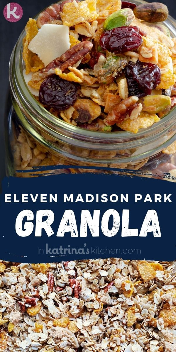 Eleven Madison Park Granola Recipe from the Best Restaurant in the World