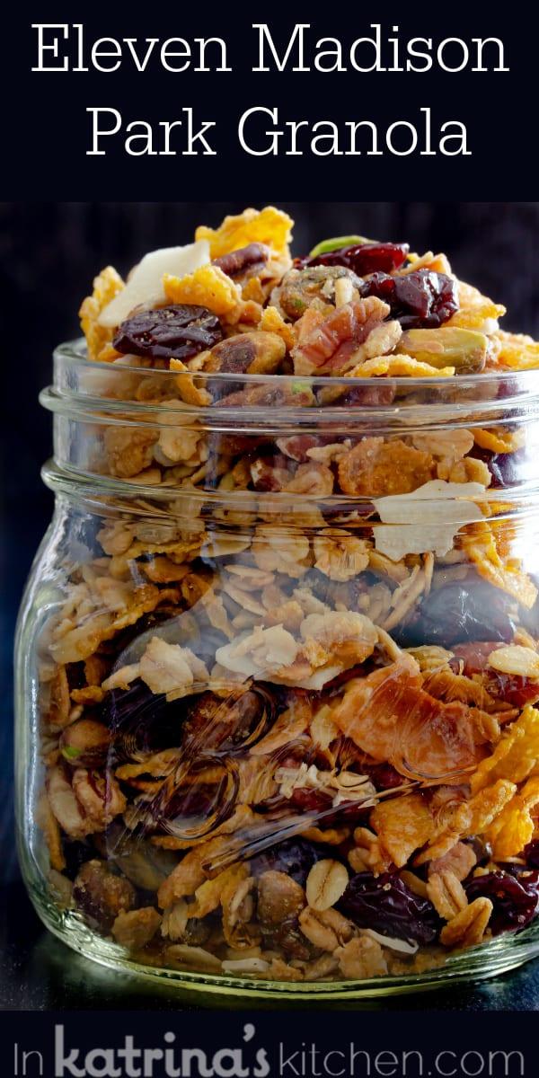 Eleven Madison Park Granola Recipe- the last granola recipe you will ever need!